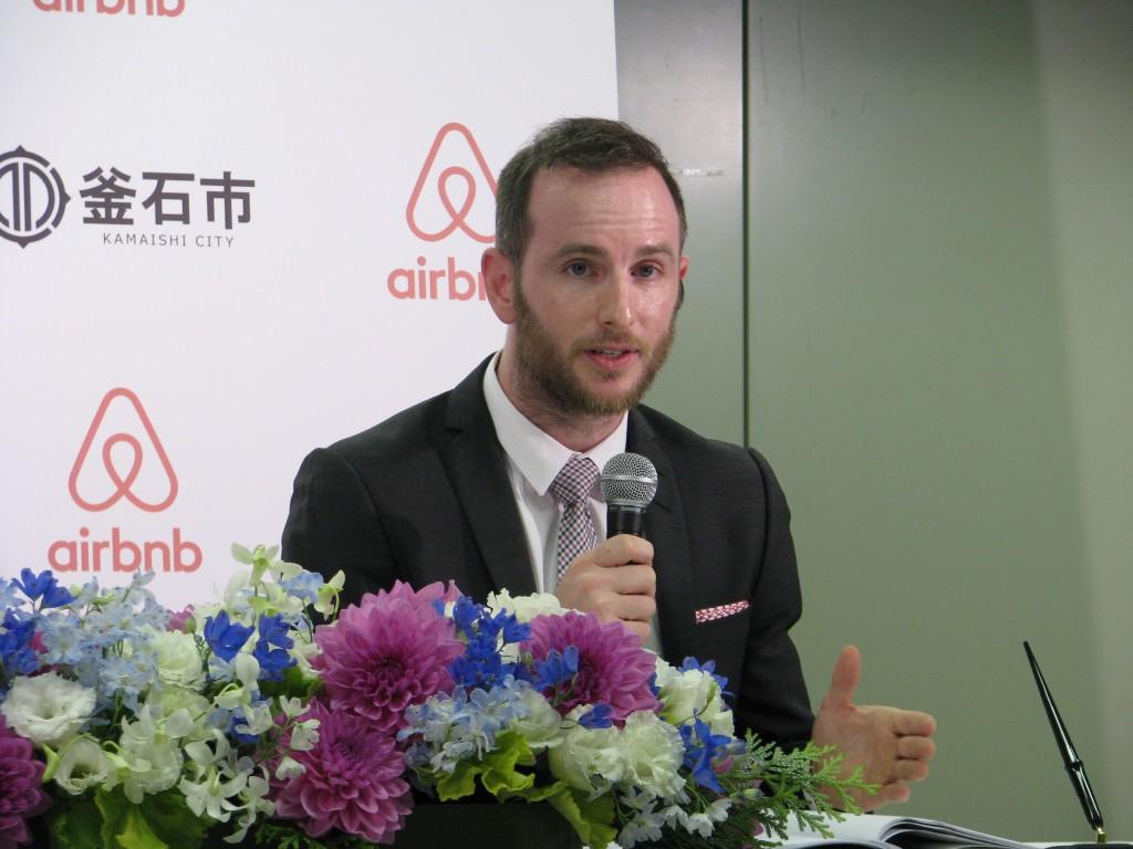 Airbnb共同創設者兼CPOのジョー・ゲビア氏