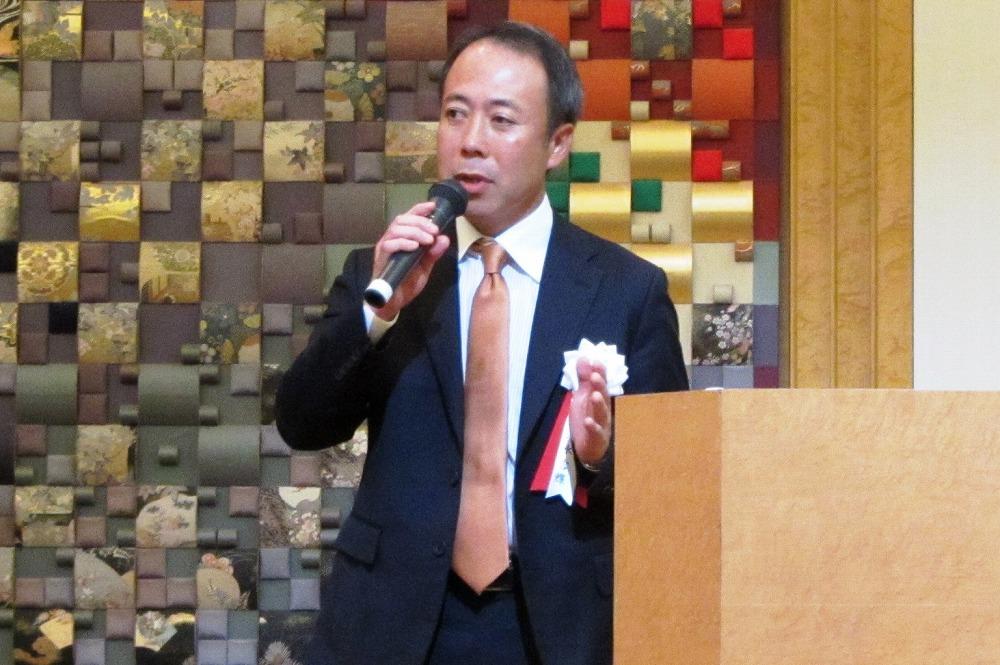 タップ代表取締役社長の清水氏