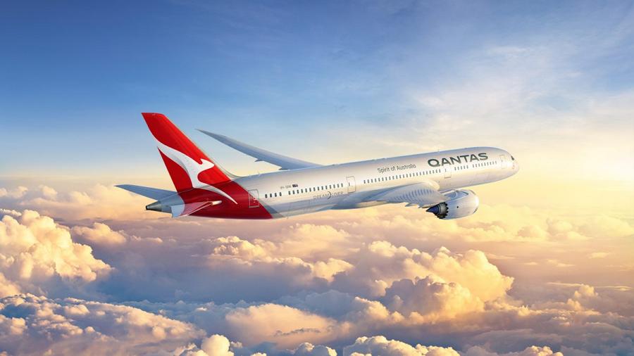 カンタス航空が新ロゴ発表、カンガルーのデザインをシンプル化、B787ドリームライナー導入に向け
