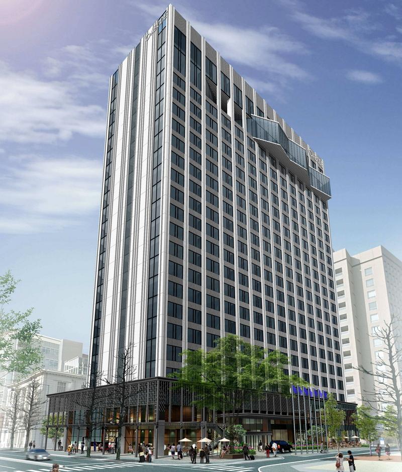 横浜にハイアットリージェンシー開業へ、山下公園に至近の地上22階315室で、2019年6月に