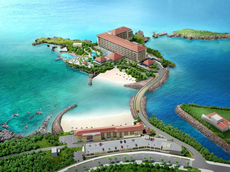 沖縄・恩納村にハイアットリージェンシー開業へ、瀬良垣(せらがき)島全域を利用、オープンは2018年夏