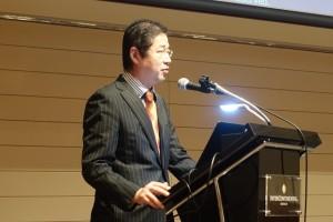関西エアポート航空営業部・航空営業グループリーダーの笹部幹和氏