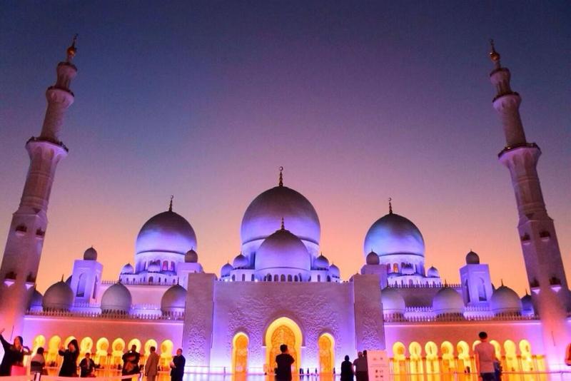 シェイク・ザイード・グランドモスク(アラブ首長国連邦):トリップアドバイザー 報道資料より