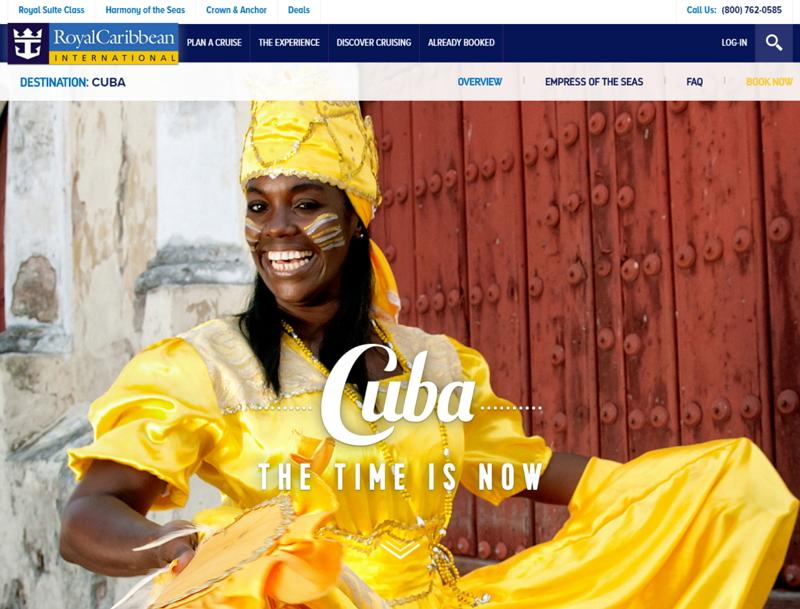 ロイヤル・カリビアン、キューバ寄港のクルーズ開始、2017年夏季には定期運航も
