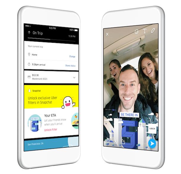 米ウーバー、配車の目的地に「知人」を設定できる機能追加、「スナップチャット」でコミュニケーション連動も【動画】