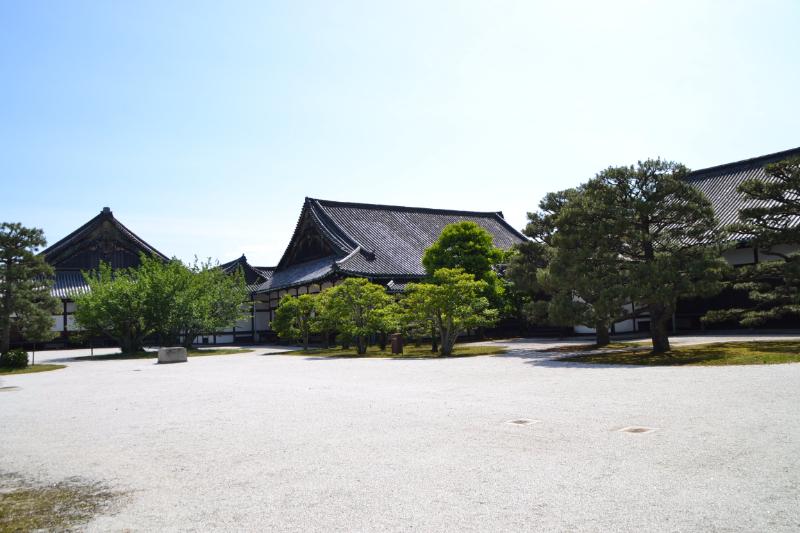 二の丸御殿中庭の眺め:京都市文化市民局 報道資料より