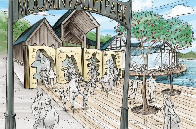 北欧のテーマパーク「メッツァ」開業へ、ムーミンと生活体験の2エリアで、埼玉県飯能市に