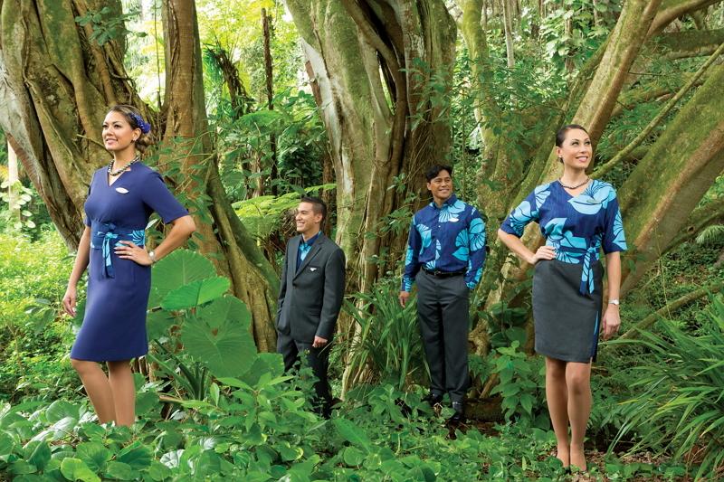 ハワイアン航空が新しい制服を発表、「A321neo」運航開始に合わせ2017年後半から