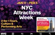 米・ニューヨーク市、冬の観光キャンペーンで体験・観劇・ツアーなど70箇所以上で参加費半額に