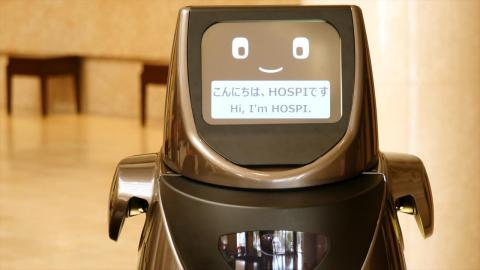 ホテルでロボットがウェルカムドリンクを提供、パナソニックがホテルと空港でサービス実証実験 【動画】