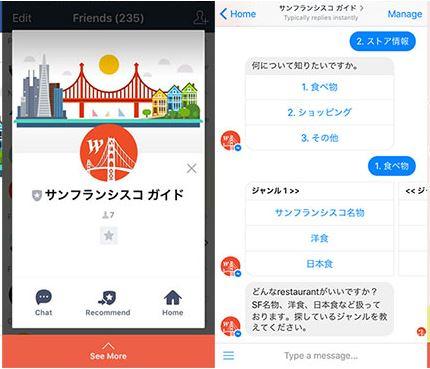 AI(人工知能)活用の海外ガイドサービスを開発、チャットボットで旅行者に観光地情報、日本人の米国旅行で実証実験