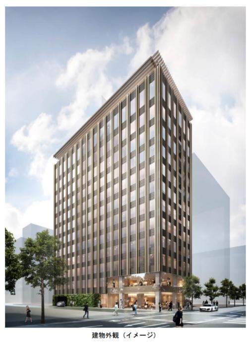 森トラストが銀座二丁目に新ホテル開業へ、設計と内装デザインは建築家・隈研吾氏、2020年に