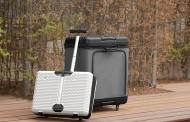 【動画】折りたたみ可能なスーツケースが登場、充電できるUSBチャージ機能付き、拡張時には3倍に