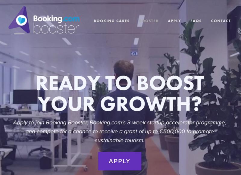 ブッキング・ドットコムが起業家支援、「持続可能な観光」の新規事業に最大7000万円を助成する投資プレゼン開催へ