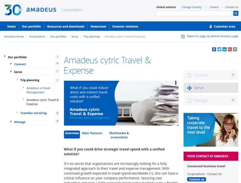 HIS、シンガポール支店がGDSアマデウスと提携、出張旅行の管理ソリューション導入へ