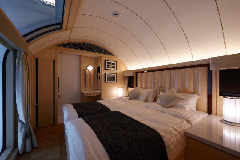 写真でみる豪華列車「トワイライト・エクスプレス瑞風(みずかぜ)」、JR西日本が新列車「走る豪華ホテル」デザインを初公開
