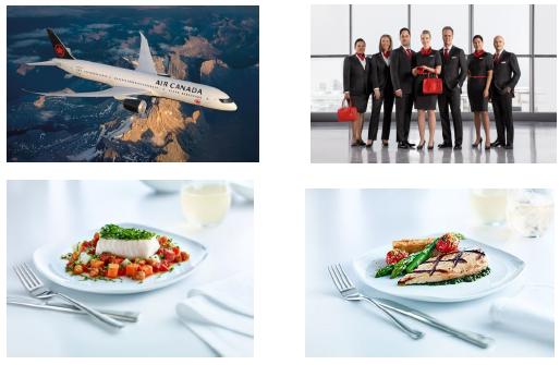 エア・カナダ、機体デザインと制服を刷新、機内食も発表  【動画】