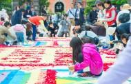 都内名所がフラワーカーペットで彩られる新イベント、六本木ヒルズなど17会場で3月から