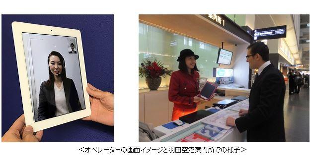KDDI、法人向けに外国人接客の翻訳アプリとテレビ通訳を提供、簡単な会話はAI(人工知能)・複雑な案内はオペレーターで