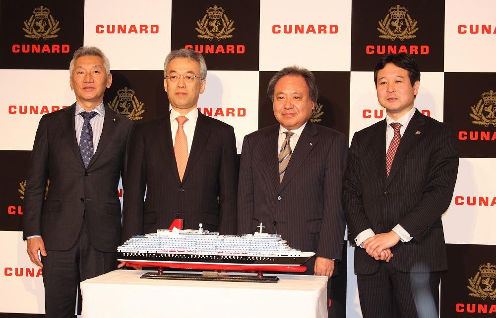 ついに豪華客船クイーン・エリザベスが「横浜発着」で日本周遊クルーズ、2019年にGW含む旅程が8日間15.8万円から