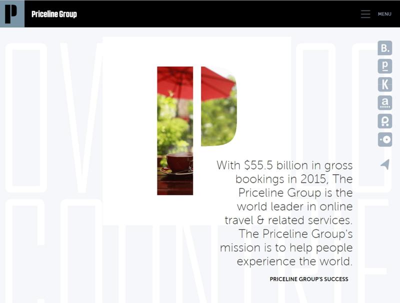 世界2大OTAの1社・プライスライン決算、2016年の総予約額は23%増の約7.5兆円、ホテル予約の成長拡大