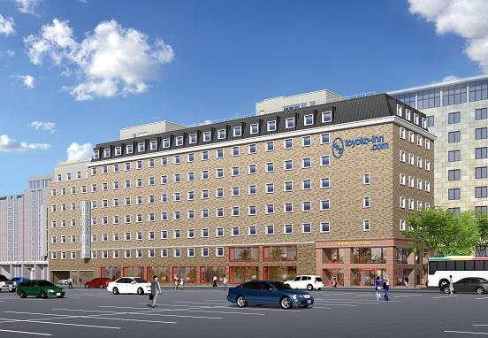 ホテル「東横イン」が欧州に初進出、独フランクフルト中央駅から徒歩1分、シングル59ユーロから