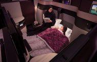 カタール航空、新ビジネスクラスにダブルベッド投入、家族4人で共有できるスイートも【画像】