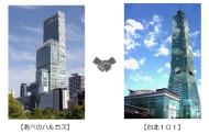 あべのハルカスと台湾101、日本/台湾の「最も高いビル」つながりで相互誘客へ、友好協定を締結