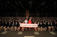 JTB入社式2017、グループ48社で初めての合同入社式、新入社員1037人が参加