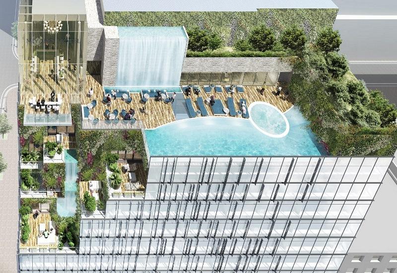 博多駅前に新たな都市型ホテル、新ランドマークビル建設で -近鉄グループ