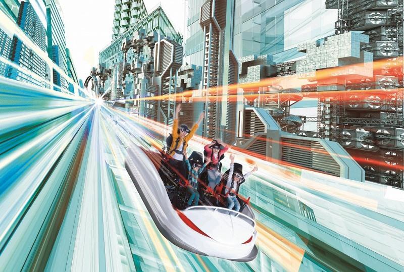 ハウステンボスに世界一の絶叫コースター、仮想現実(VR)のライド型アトラクションで
