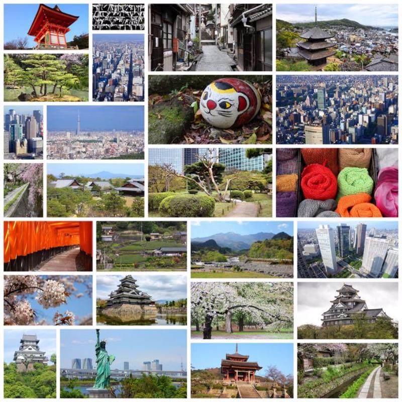 世界で「シェア」された旅行テーマのトップ10発表、 AI(人工知能)で500万データを分析、旅行者のSNSの平均使用時間は1日66分