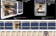 夜行列車の個室をイメージしたカプセルホテル、JR西日本が新ブランドで展開