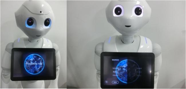 ロボットが45か国語で接客ができるアプリ登場、AI(人工知能)搭載でPepperやロボホンでも活用可能に【動画】
