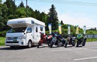 キャンピングカーとバイクがセットの「6輪レンタル」、成田空港拠点に外国人旅行者の需要に期待