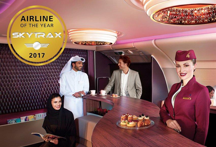 格付け会社の航空会社ランキング2017、世界1位はカタール航空、ANAが3位で日系2社がランクアップ
