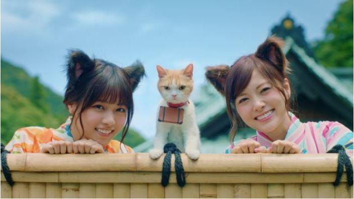 じゃらん、新CMで「乃木坂46」を起用、猫キャラとコラボで猫耳つけてダンス披露 -リクルート