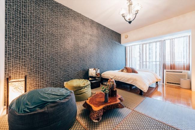 大阪に1棟民泊マンションが開業へ、180日制限ルールなしの特区民泊で、「純和風部屋」や「日本酒飲み比べ部屋」などコンセプトルームも