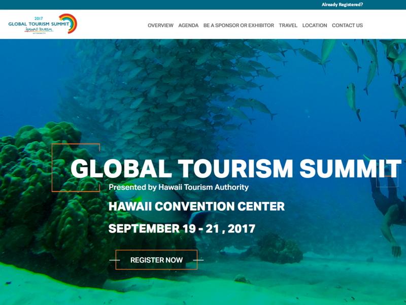 ハワイ州観光局、「サステナブル」テーマに9月19日からハワイでサミット開催、2018年の戦略を発表(PR)