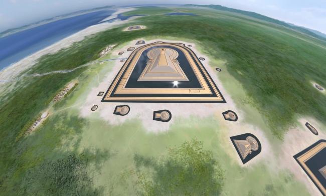 日本最大の古墳で疑似体験VRツアー、約1600年前の仁徳天皇陵の姿を360度VR映像で再現、KNT運営支援で