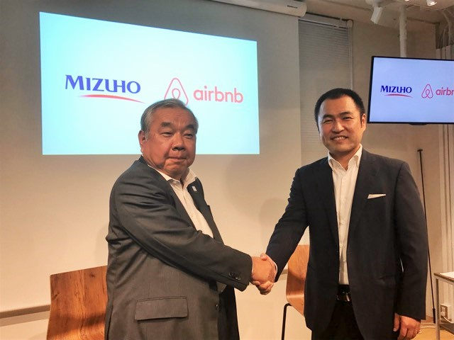 大手銀行が「民泊」を支援、みずほ銀行と民泊Airbnbが提携、神社・駅舎・社宅なども民泊施設として開拓へ
