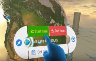 アマデウス、仮想現実(VR)で旅行を検索・予約するアプリで特許出願、VRで地球回して行き先選び【動画】