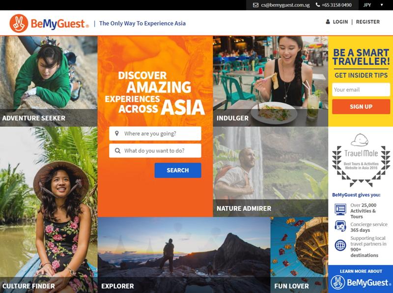 タビナカ体験のBtoB卸売り「BeMyGuest」、アジア特化のビジネスから日本での拡大戦略まで共同創設者に聞いてきた