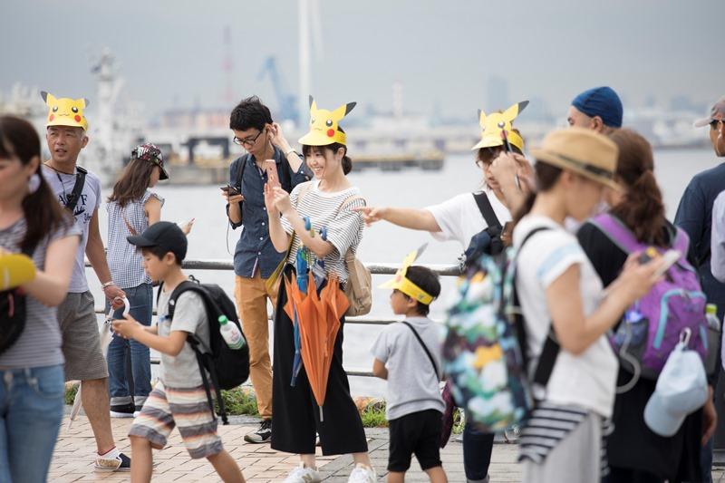 お盆の横浜「ポケモンGO」イベントに参加者200万人、捕獲されたポケモンの数は1.2億匹以上に