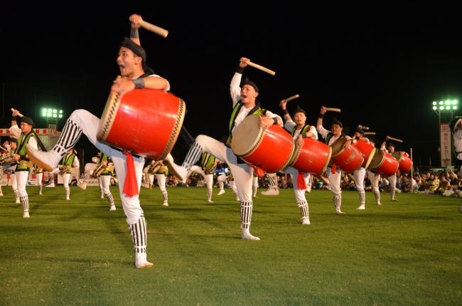 沖縄全島の盆踊り(エイサー)祭りでイベント民泊、シルバーウィーク3連休に