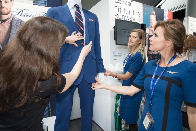ユナイテッド航空、新しい制服の開発開始、全過程に社員参加で2020年に導入へ