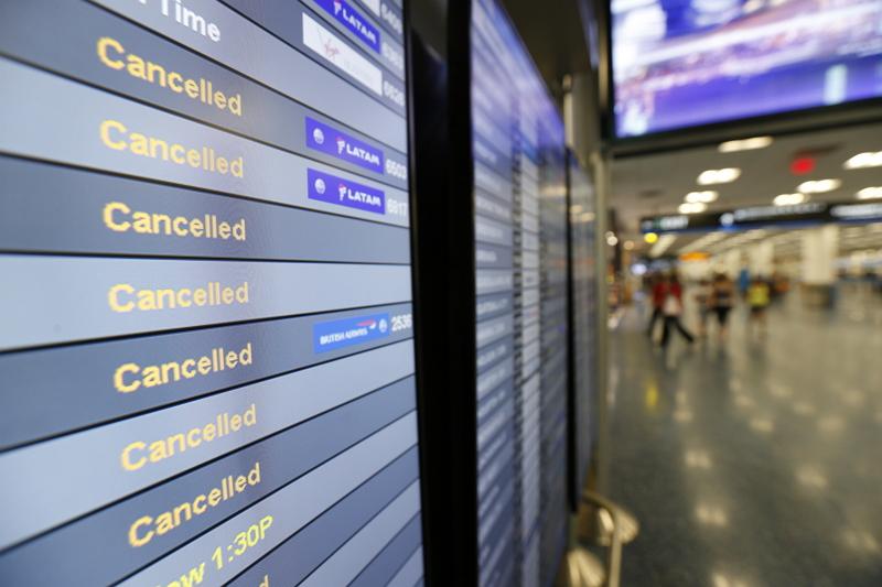 米国ハリケーン来襲で航空便キャンセルが9000便超えに、マイアミ空港の再開は9月12日(現地)の見込み