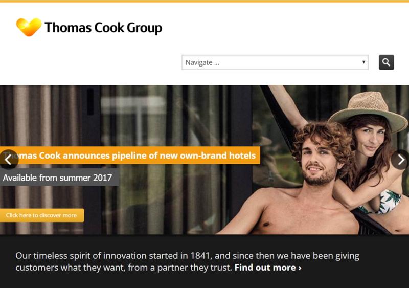 エクスペディアが欧州市場を強化、英・老舗旅行「トーマスクック」社と戦略的提携へ