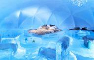 星野リゾート、今年も北海道トマムで「氷のホテル」、氷の露天風呂や湯上り処も