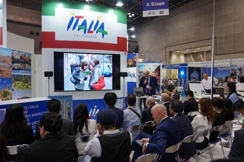 イタリア政府観光局、日本で大規模なBtoB商談会に出展、ミラノ万博後は堅調な旅行者増加に